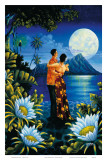 Hawaiian Island Honeymoon Prints by Warren Rapozo
