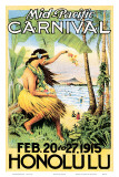 Mid Pacific Carnival 1915 Poster