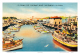 Fisherman's Wharf, San Francisco, California, USA Poster