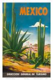Mexico, Ciudad Juarez, Chihuahua, c.1950 Posters by Magallón