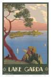 Lake Garda, Italy, c.1930 Print by Severino Tremator