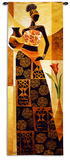Naima Wall Tapestry by Keith Mallett