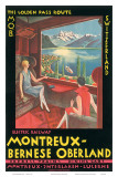 Montreux, Bernese Oberland Railway, Switzerland, c.1925 Print