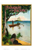 Paradise of Pacific, Outrigger Plakater