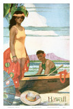 The Story Of Hawaii, Tourist Bureau Booklet 1929 Edition Art by John Kelly