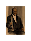 Joe King Oliver Giclee Print by Clifford Faust