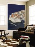 Croatia, Southern Dalmatia, Dubrovnik, Old Town Wall Mural by Walter Bibikow