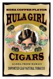 Hula Girl Cigars, Hawaii Art
