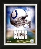 Indianapolis Colts Helmet Logo Art