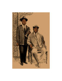 Louis and Joe Giclee Print by Clifford Faust