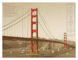 Golden Gate Architecture Posters by Phil Maier