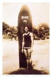Young Duke Kahanamoku, Honolulu, Hawaii Prints