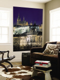 Castle and St Vitus Cathedral, Prague, Czech Republic Wall Mural by Jon Arnold