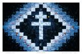 Santo Cruzeiro Cross Posters by Emmet Murray