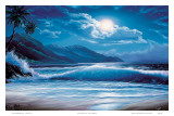 Moonlight Tide, Hawaii Prints by Steve Sundram