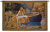 The Lady of Shalott Wall Tapestry by John William Waterhouse