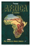 Africa by Clipper, c.1949 Kunst