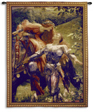 La Belle Dame Sans Merci Wall Tapestry by Frank Bernard Dicksee