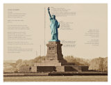 Statue of Liberty Architecture Art by Phil Maier