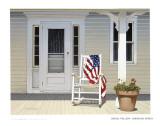 American Porch Kunstdruck von Daniel Pollera