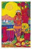 Hawaiian Seaside Market Prints by Rick Sharp