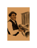 Fats Waller Giclee Print by Clifford Faust