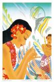 Hawaiian Gifts of the Sea, Menu Cover, c. 1930s Prints by Frank MacIntosh