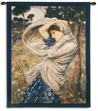 Boreas Wall Tapestry by John William Waterhouse