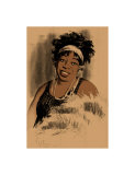 Ma Rainey Giclee Print by Clifford Faust