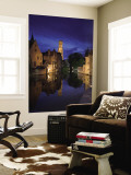 Belfort and River Dijver, Bruges, Flanders, Belgium Wall Mural by Alan Copson