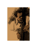 Charles Mingus Giclee Print by Clifford Faust