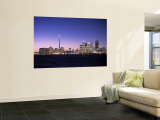 Skyline of Toronto, Ontario, Canada Mural por Walter Bibikow