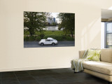 1970's Porsche 911, Riverside Park, Frankfurt-Am-Main, Hessen, Germany Wall Mural by Walter Bibikow