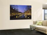 Prinsengracht and Wsterkerk, Amsterdam, Holland Wall Mural by Jon Arnold