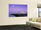 Palace Pier, Brighton, East Sussex, England Wall Mural by Rex Butcher