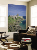 Fort La Latte, Cape Frehel, Brittany, France Wall Mural by Steve Vidler