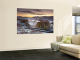 Frosty Morning, Little Langdale, Lake District, Cumbria, England Wall Mural by Doug Pearson