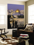 Dome of the Rock, Temple Mount, Jerusalem, Israel Wall Mural by Jon Arnold