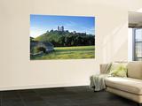 Corfe Castle, Dorset, England Fototapete von Peter Adams