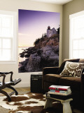 Bass Harbor Head Lighthouse, Acadia Nat. Park, Maine, USA Wall Mural by Walter Bibikow