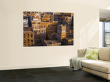 Skyline of Sanaa, Yemen Wall Mural by Michele Falzone