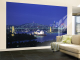 Sydney Opera House, Sydney, New South Wales, Australia Wall Mural – Large by Walter Bibikow