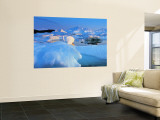Icebergs, Disko Bay, Greenland Wall Mural by Peter Adams