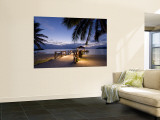 Luxury Resort, Malolo Island, Mamanuca Group, Fiji Reproduction murale g&#233;ante par Michele Falzone