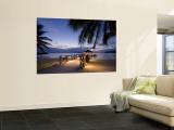 Luxusressort, Malolo Island, Mamanuca-Gruppe, Fiji Fototapete von Michele Falzone
