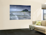 Bamburgh Castle, Northumberland, England, UK Reproduction murale par Alan Copson