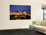 La Cite, Carcassonne, Languedoc Roussillon, France Wall Mural by Alan Copson