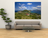 Caribbean, St Kitts and Nevis, St Kitts, Frigate Bay Wall Mural by Gavin Hellier