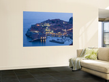 Croatia, Southern Dalmatia, Dubrovnik, Old Town and Harbour Wall Mural by Walter Bibikow