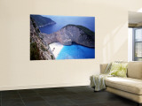 Navagio, Zante, Ionian Islands, Greece Wall Mural by Danielle Gali
